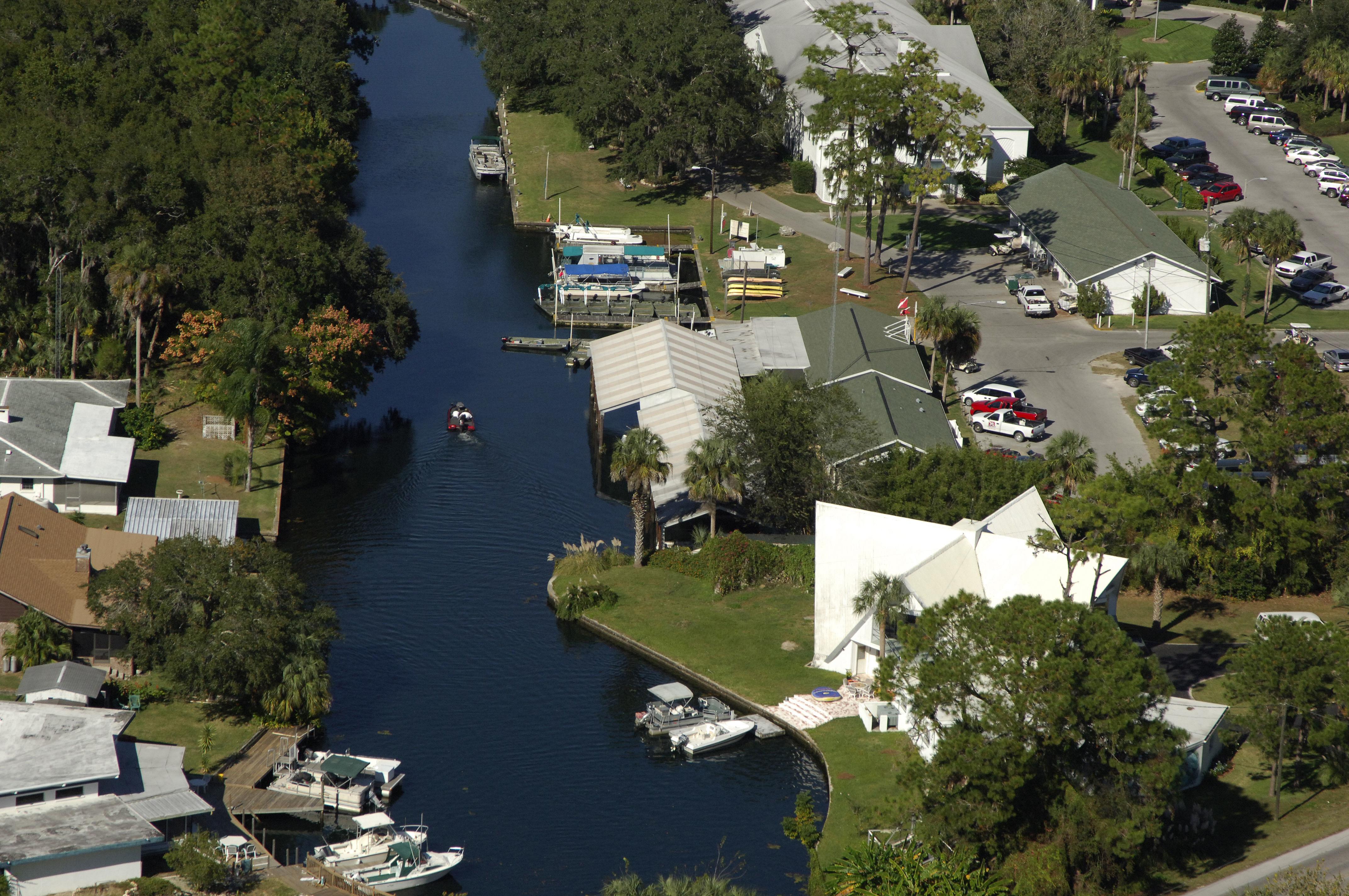 Plantation Inn & Golf Resort: Marina in Crystal River, FL ...