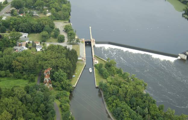 Champlain Canal Lock 1