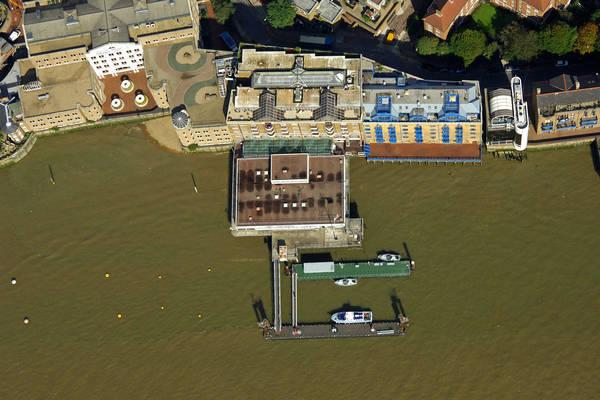 HMS President Fuel Dock