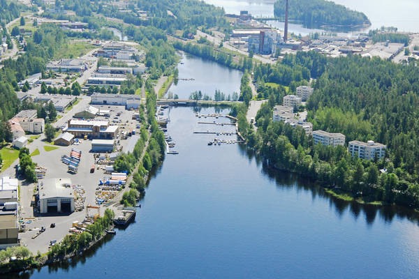 Savonlinna Kyronniemi Harbour