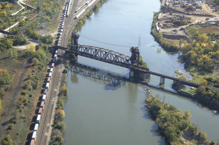 Elgin Joliet and Eastern RR Bridge