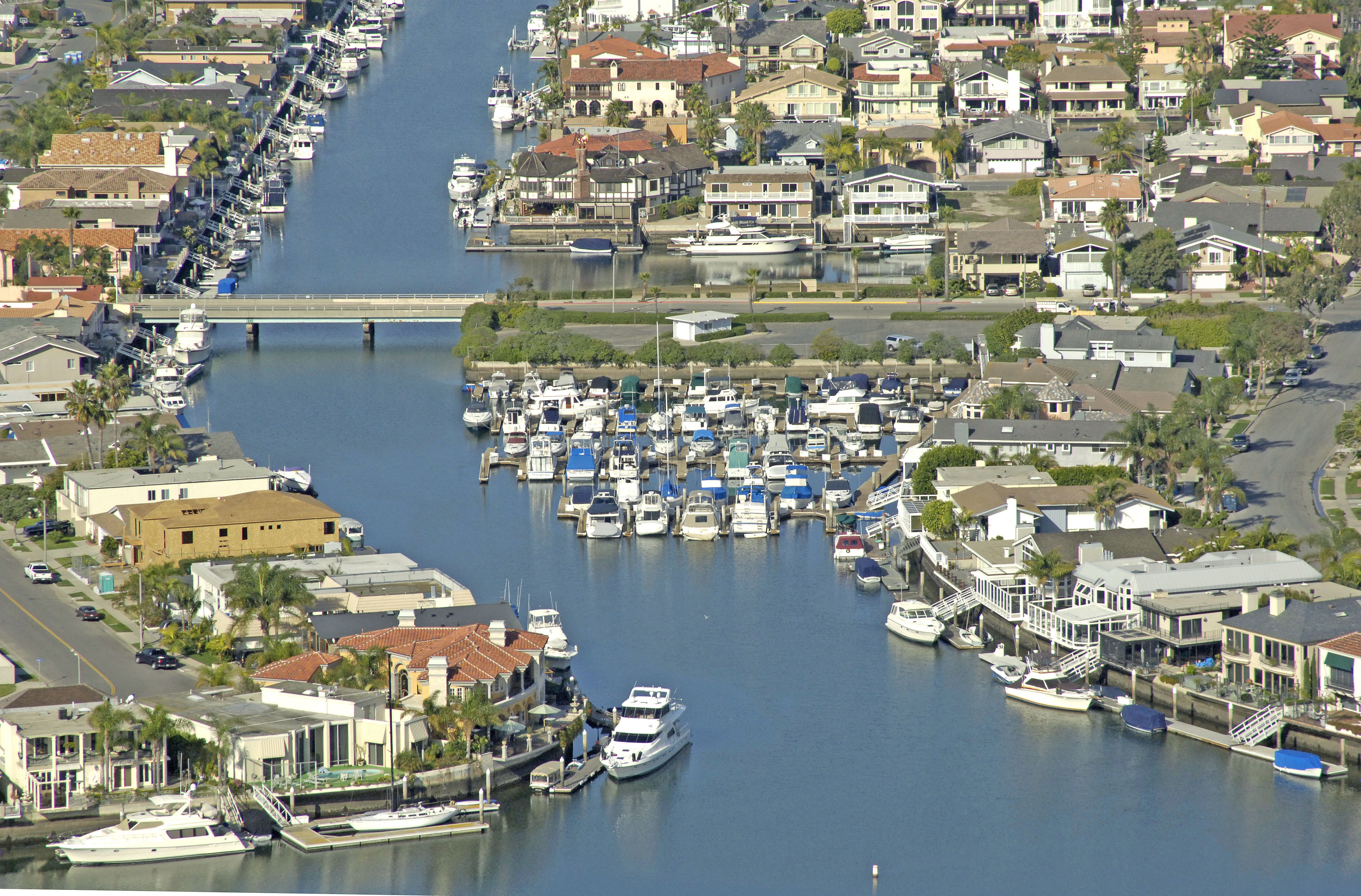 Davenport Marina in Huntington Beach, CA, United States
