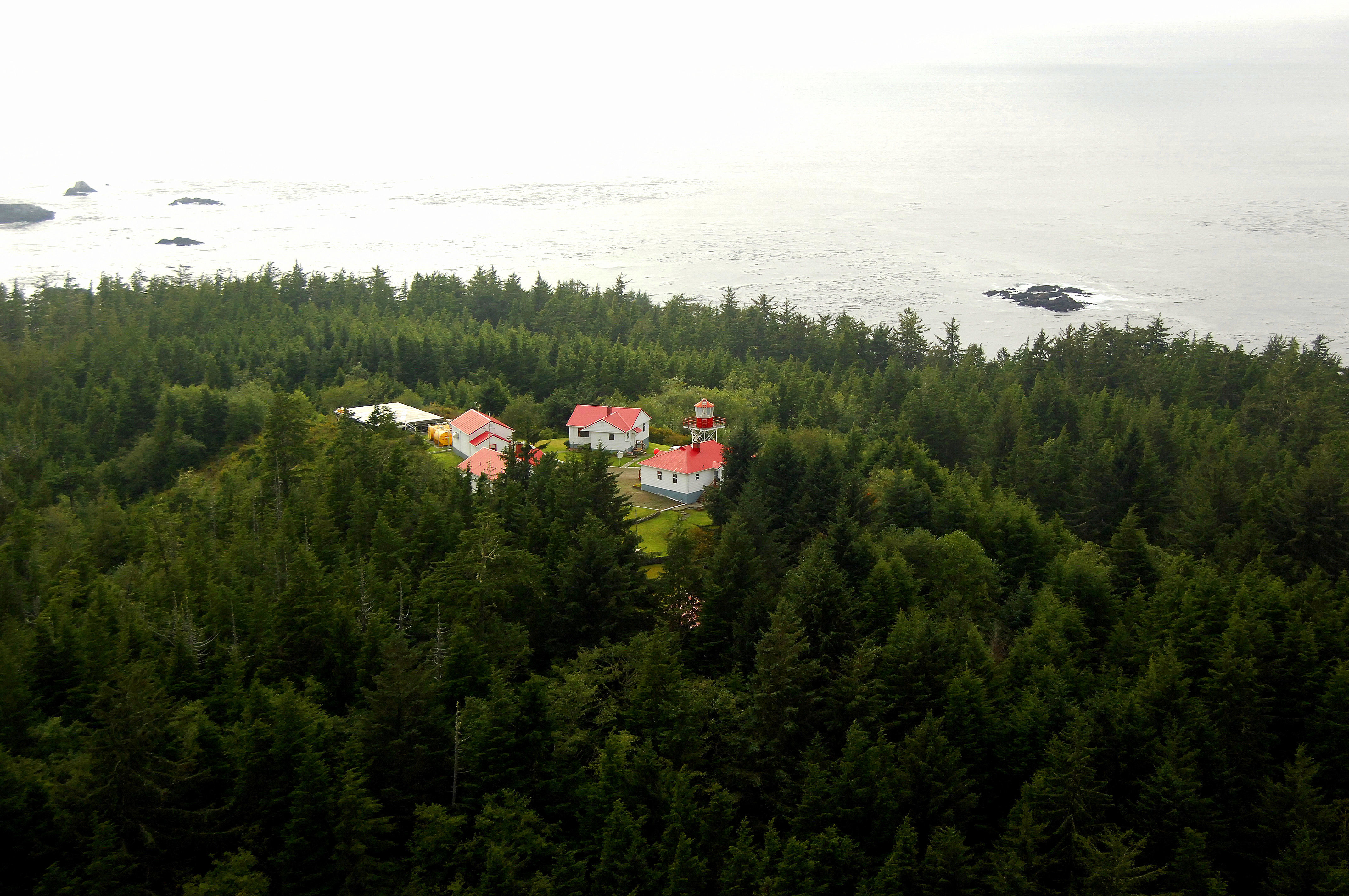 Cape Scott Lighthouse In Holberg Bc Canada Lighthouse