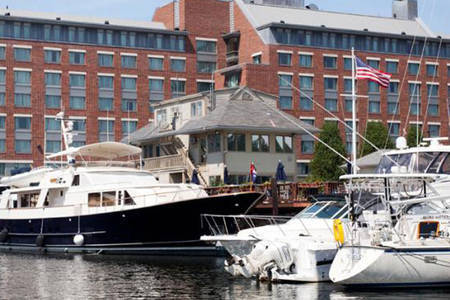 Bed & Breakfast Afloat at Constitution Marina