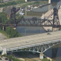Cleveland Conrail RailRoad Lift Bridge 1