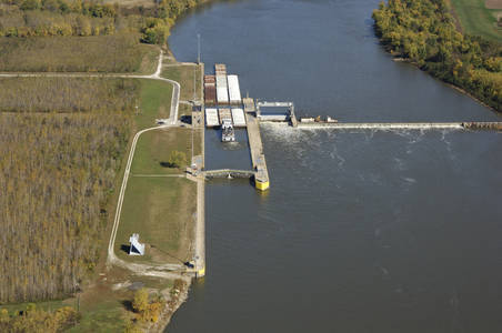 Illinois River LaGrange Lock